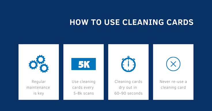 How to Use Cleaning Cards for Your Check Scanner