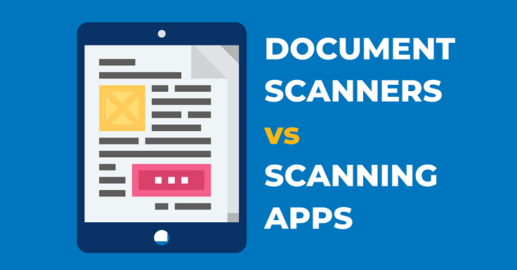 Document Scanner Apps vs Scanners for Desktop Decluttering