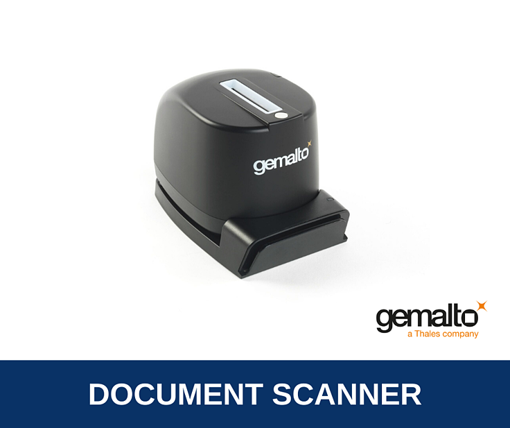 Gemalto CR5400 ID Verification Scanner