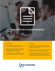 Navigating the IT support minefield